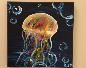 Jelly in the Deep Painting