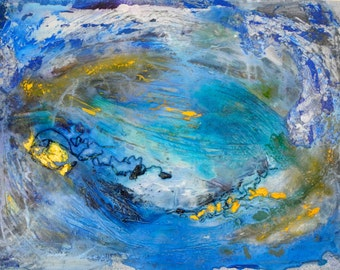 Vortex - original painting - acrylic on canvas - 90 cm x 70 cm