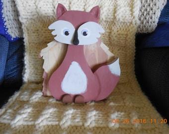Little Red Fox Birdhouse