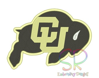11 Size Colorado Buffaloes Embroidery Designs College Football Logo Embroidery Design Machine Embroidery - Instant Download