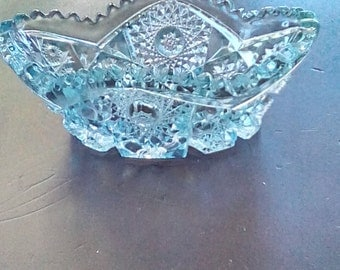 Pressed Glass candy/small dish