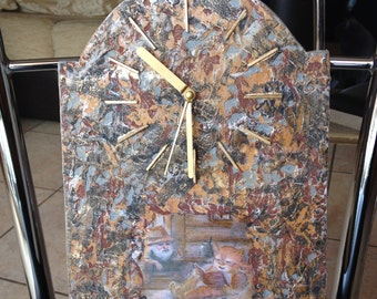 Decorative clock, decorative clock