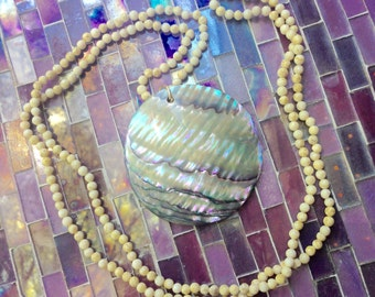 Beachy Shell and Bead Necklace