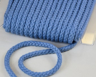 Cord 8mm light blue