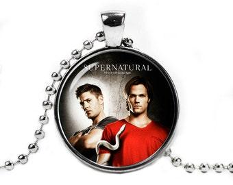 Supernatural Necklace Pendant Dean Winchester Sam Winchester Supernatural Jewelry Geeky Fangirl Fanboy
