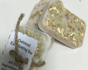 Exfoliating Oatmeal Soap Bar