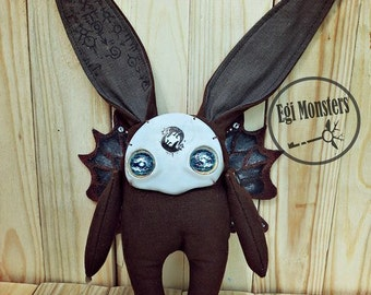 The Creature Bunny Monster Plush Stuffed Toy Gift