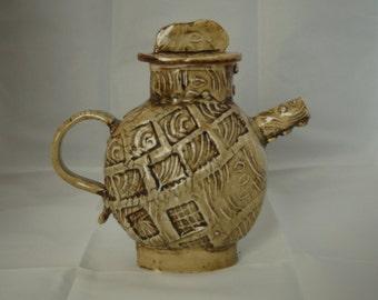 Stamped Teapot