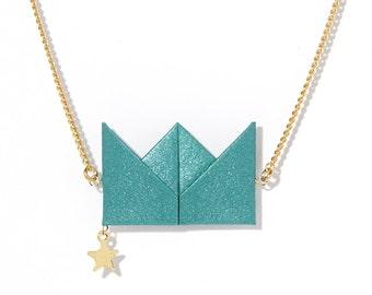 Necklace - Drama Queen - Emerald