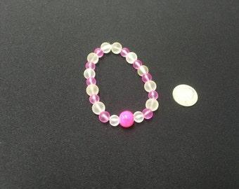 The cotton candy bracelet