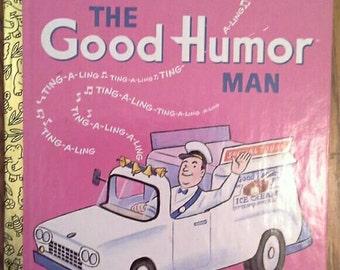 1964/1992 Reprint Classic Little Golden Book The GOOD HUMOR MAN #550