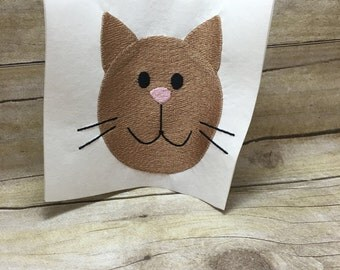 Cat Embroidery Design, Cat Embroidery