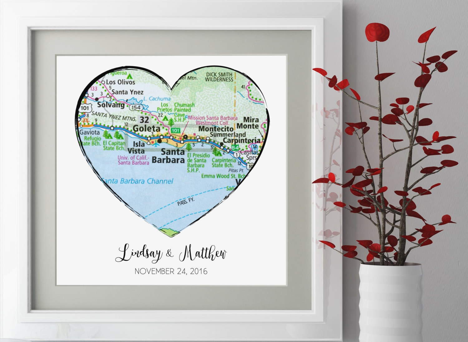 Wedding Gifts For Couple Etsy : Unique Wedding Gift For Couple Personalized by LovetoArtCo on Etsy