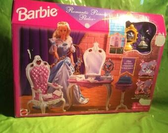 Barbie Romantic Princess Parlor New in Box Playset Vintage 1990s