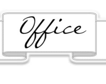 Office label - Simple Collection