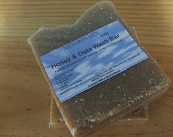 Honey & Oats Wash Bar