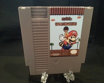 Mario in Some Usual Day Nintendo NES Game