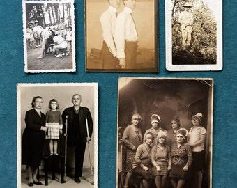 Six Curated Odd Vintage Photos