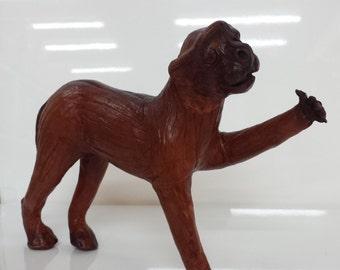 Vintage Genuine Leather monkey (Hand made)