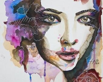 Watercolor Potrait