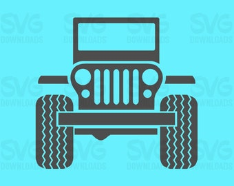 Jeep SVG | Digital Cutting and Printing Files