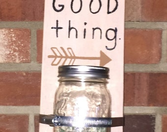 Change is a Good Thing change jar