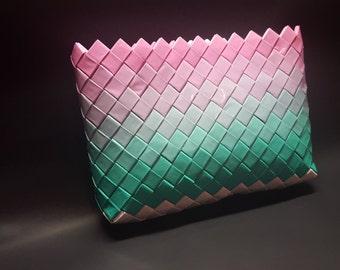 """Wrapper bag, clutch bag """"shades of colors"""""""