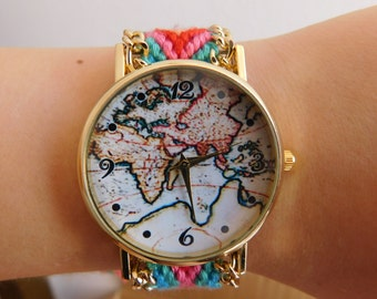 Adjustable Fashion Watch_CO645305003754_MAP Watch_Fashion Accessories_Gifts for Her