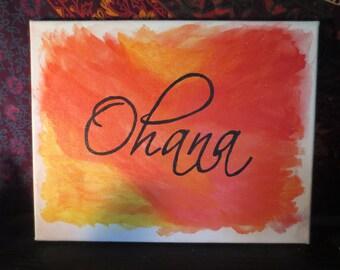 Ohana canvas