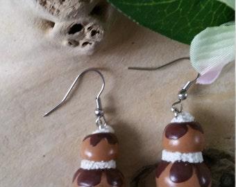"""""""Religious"""" earrings"""
