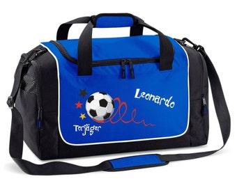 Sports bag royal blue top scorers