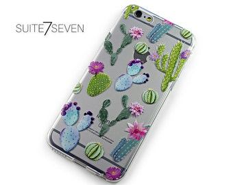 iPhone 6s Case, iPhone 6 Case, iPhone 7 Case, iPhone 6 Plus, iPhone 7 Plus Case, Galaxy Cases, Galaxy S8 Case, Cactus, Succulents