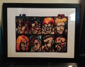 Street Fighter Perler Art