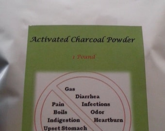 100% natural Activated charcoal powder/actived charcoal carbon 1lb/ FREE SHIPPING