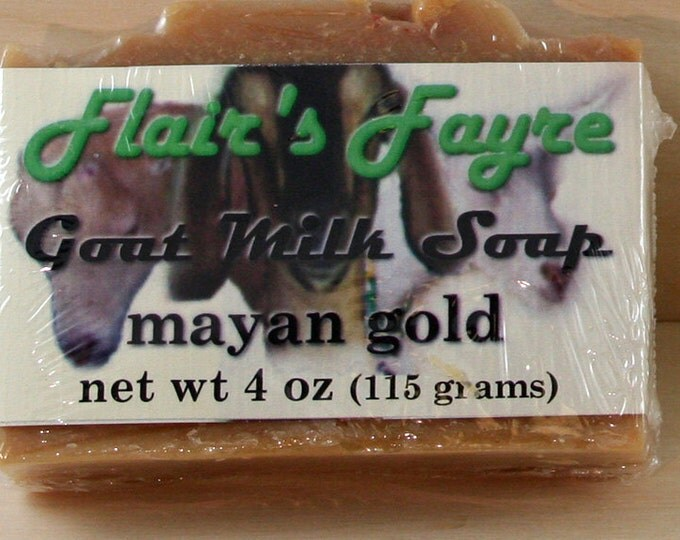 Featured listing image: mayan gold goat milk soap