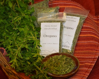 Farm-Direct, Handcrafted Dried Oregano