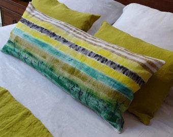 Green field Cushion cover / Green field cushion cover 90 cm x 40 cm.