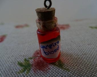 vampire blood bottle