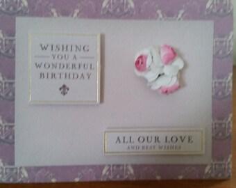 Downton Abbey birthday card
