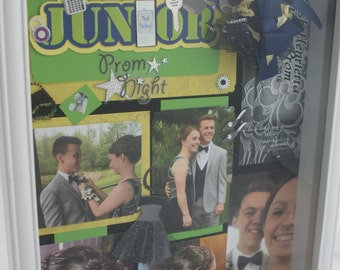 Junior Prom Shadow box