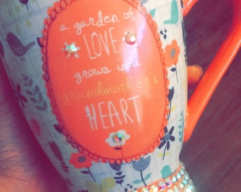 Personalized Bling Cups & Blinged Accesories