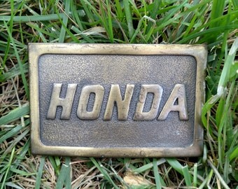 1970 Honda Belt Buckle