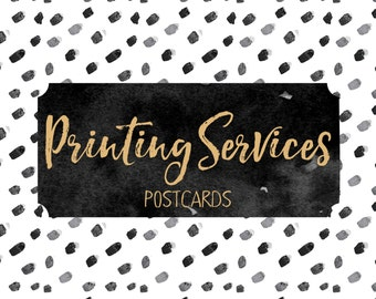 Printing Services - 50 Postcards