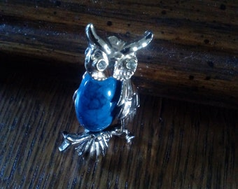 Beautiful Owl brooch