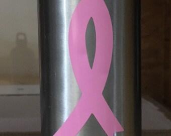 Breast Cancer Survivor Aluminum Water Bottle