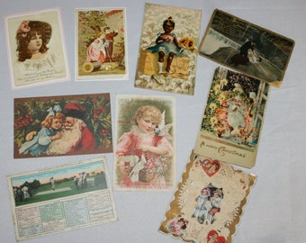 Lot of Victorian Misc. Postcards