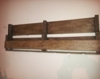 wine racks made from pallets