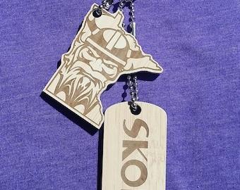 SKOL SERIES- Custom Dawg Tag Set