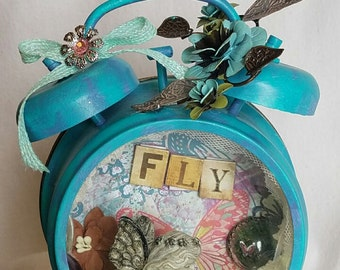 Altered art clock