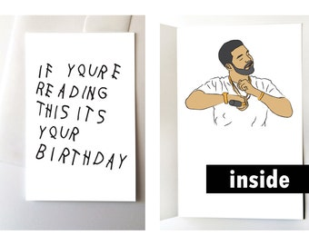 Drake Happy Birthday Card